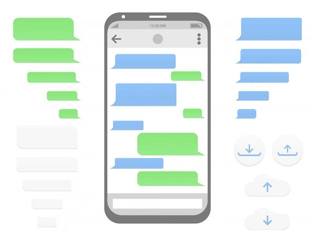 Samenstelling van chat en communicatie