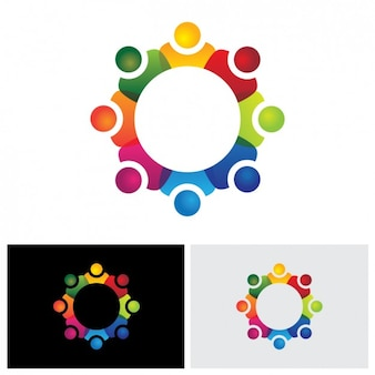 Samenvatting gekleurde logo