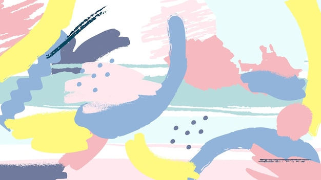 Samenvatting geschilderde achtergrond