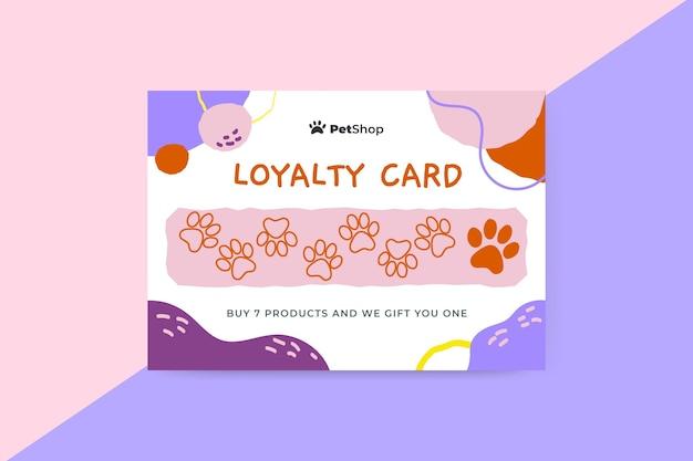 Samenvatting geschilderde kinderlijke huisdierenkaart