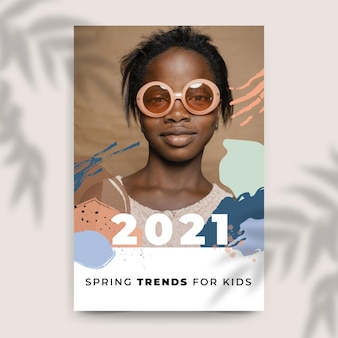 Samenvatting geschilderde kleurrijke mode blogpost