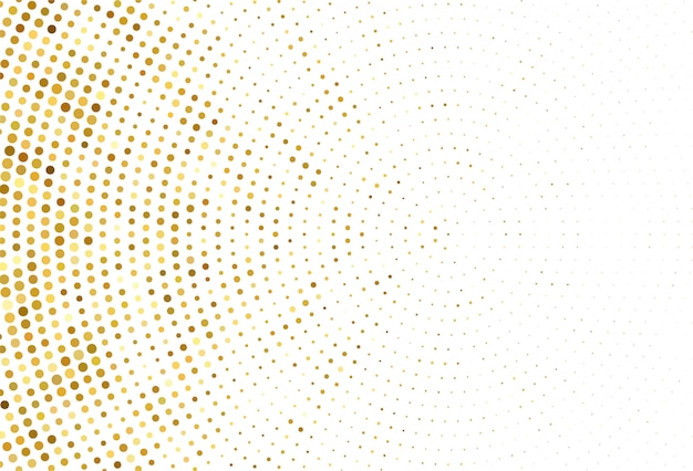 Samenvatting gestippelde gouden patroonachtergrond