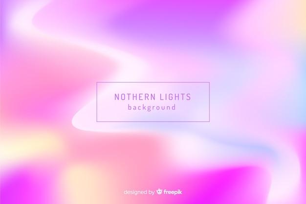 Samenvatting vage noordelijke lichtenachtergrond