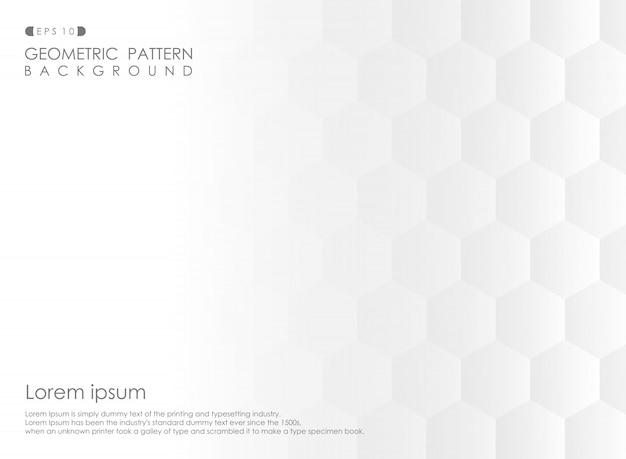 Samenvatting van pentagoon geometrisch patroon