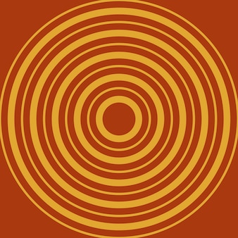 Samenvatting, vormen, spaanse peperpeper, gouden behangachtergrond vectorillustratie