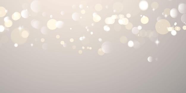 Samenvatting wazig licht banner