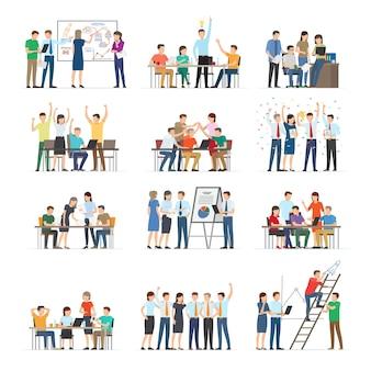Samenwerking kantoormedewerkers