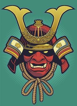 Samurai-helm