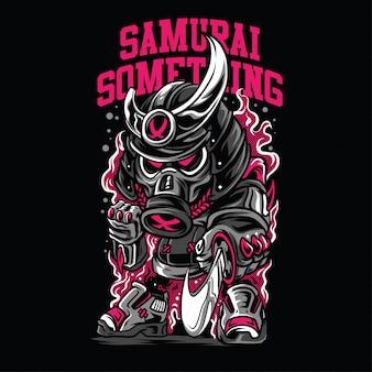 Samurai iets illustratie