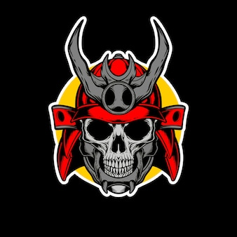 Samurai logo ontwerp