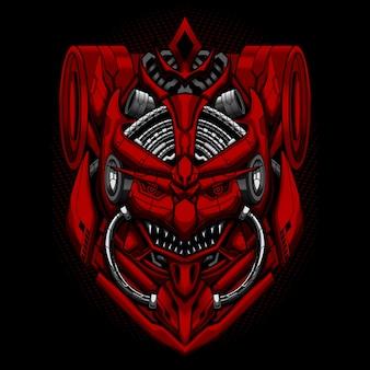 Samurai ronin mecha