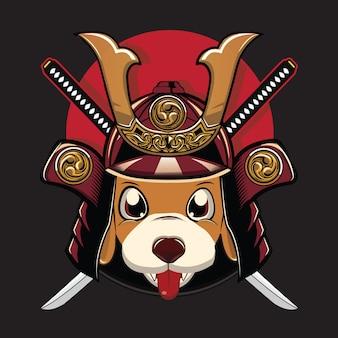 Samurai van de hond