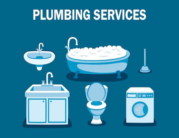 Sanitair diensten loodgieter professioneel werk