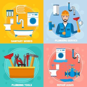 Sanitair technicus ontwerpconcept