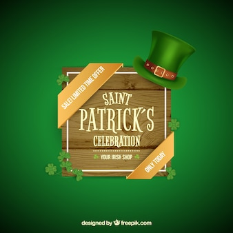 Sant patrick's day banners web collectie