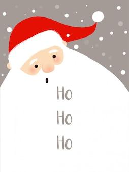 Santa achtergrond
