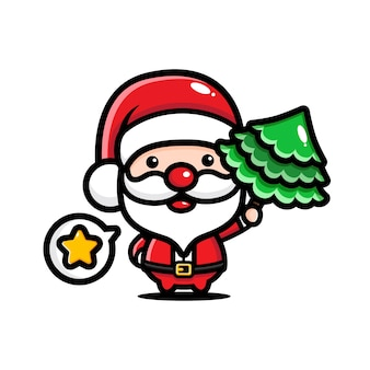 Santa claus cartoon afbeelding
