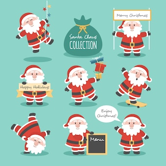 Santa claus-collectie