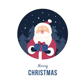 Santa claus concept illustratie