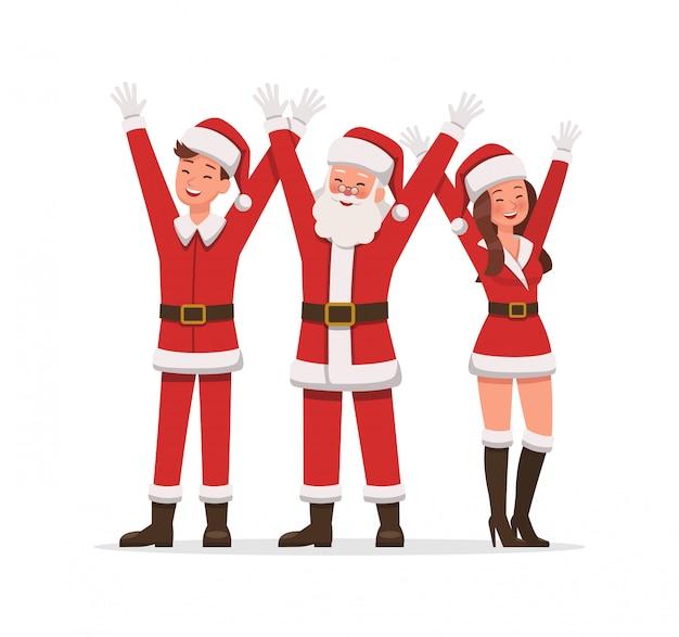 Santa claus-personages