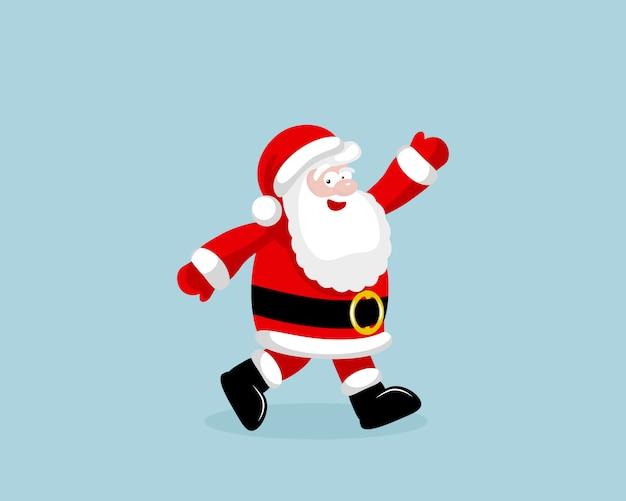 Santa claus uitgevoerd