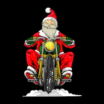 Santa motorrijders