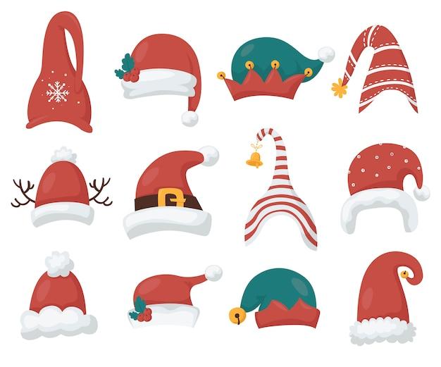 Santa's en kabouters hoeden collectie