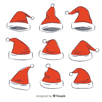 Santa's hoedenset