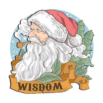 Santa vintage