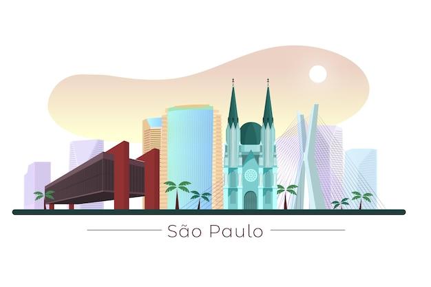 Sao paulo landmark bij daglicht