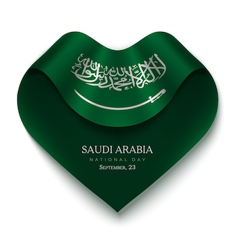 Saoedi-arabië nationale feestdag achtergrond