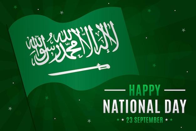Saoedische nationale dag concept