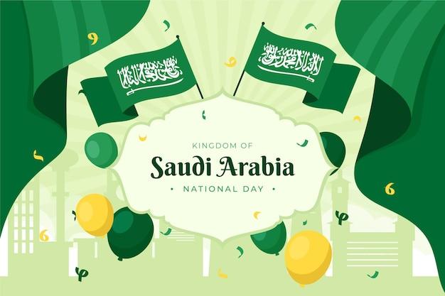 Saoedische nationale feestdag achtergrond
