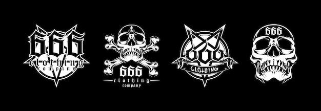 Satanisch illustratieontwerp