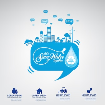 Save the water water is life