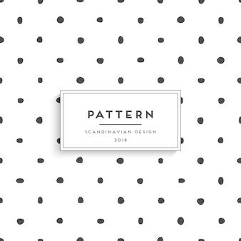 Scandinavisch naadloos patroon
