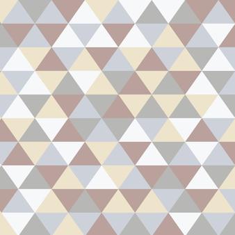 Scandinavische abstracte driehoekige kunstachtergrond Gratis Vector