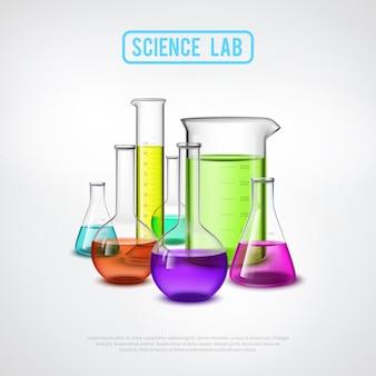 Sceince lab-compositie