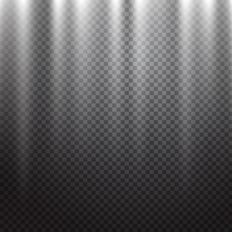 Scèneverlichting lichteffect met transparantie