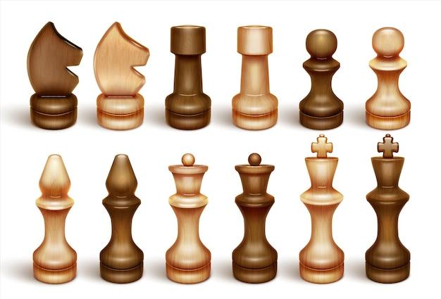 Schaakstukken schaken is een bordspel en sport