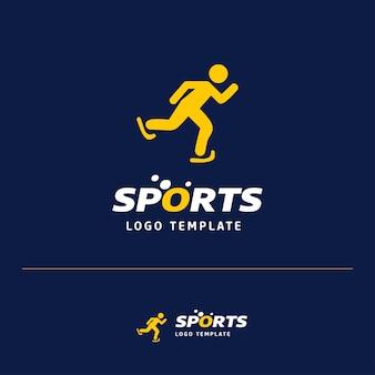 Schaatsen logo ontwerp
