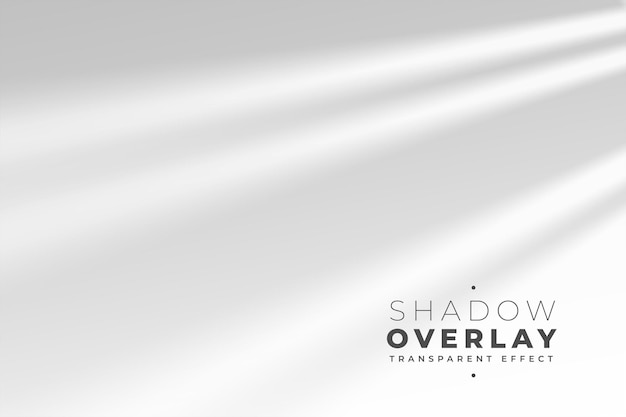Schaduwoverlay-effect van lichtstraal