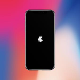 Schakel het zwarte scherm van de smartphone verdacht in