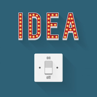Schakelaar voor ideeën