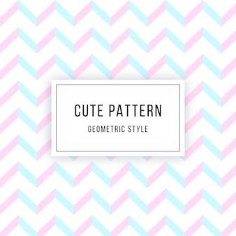 Schattig geometrisch patroon