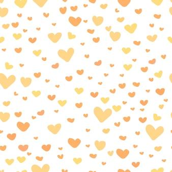 Schattig hart patroon achtergrond.