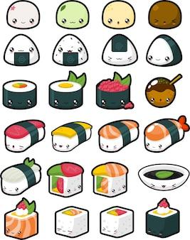 Schattig japans eten