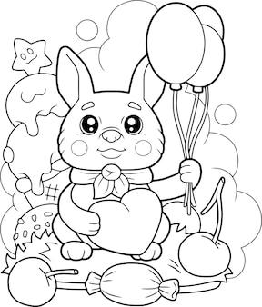 Schattig klein konijntje