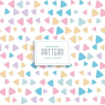 Schattig kleurrijke driehoek patroon achtergrond