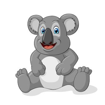 Schattig koala cartoon